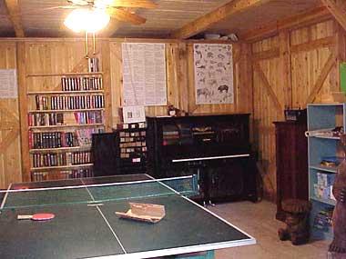 Rec hall, interior